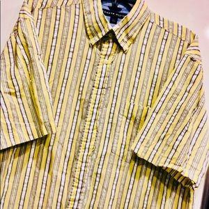 Men's Tommy Hilfiger🔹Short Sleeve Button Up Shirt